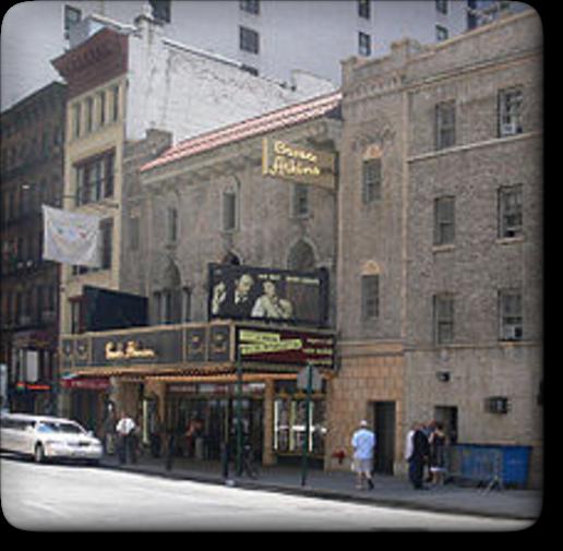 現在のMansfield Theatre