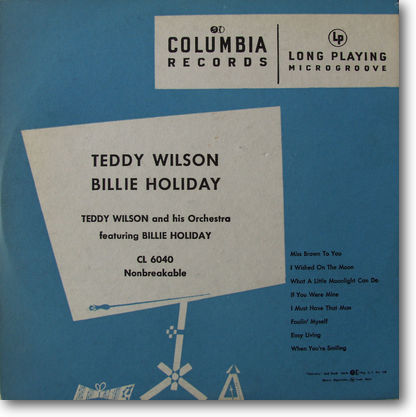 Teddy Wilson Billie Holiday