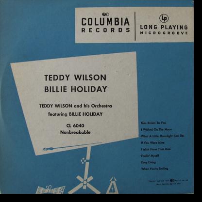 Teddy Wilson Billie Holiday