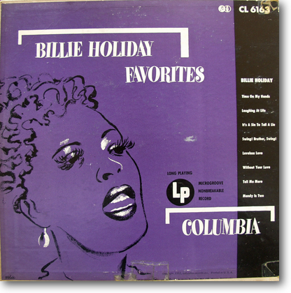 Billie Holiday Favorits