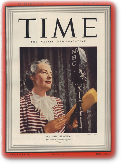 TIME June 12,1939表紙